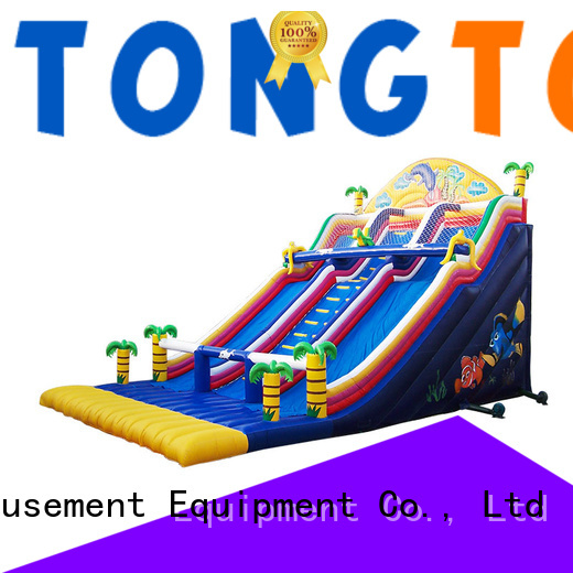 Tongtoy blow up slide from China for outdoor