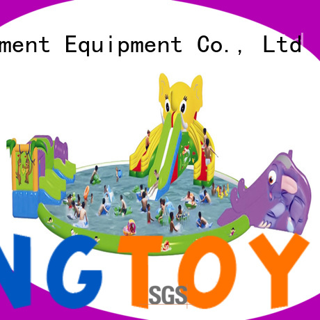 Tongtoy customized water slide bounce house factory price for swimming pool