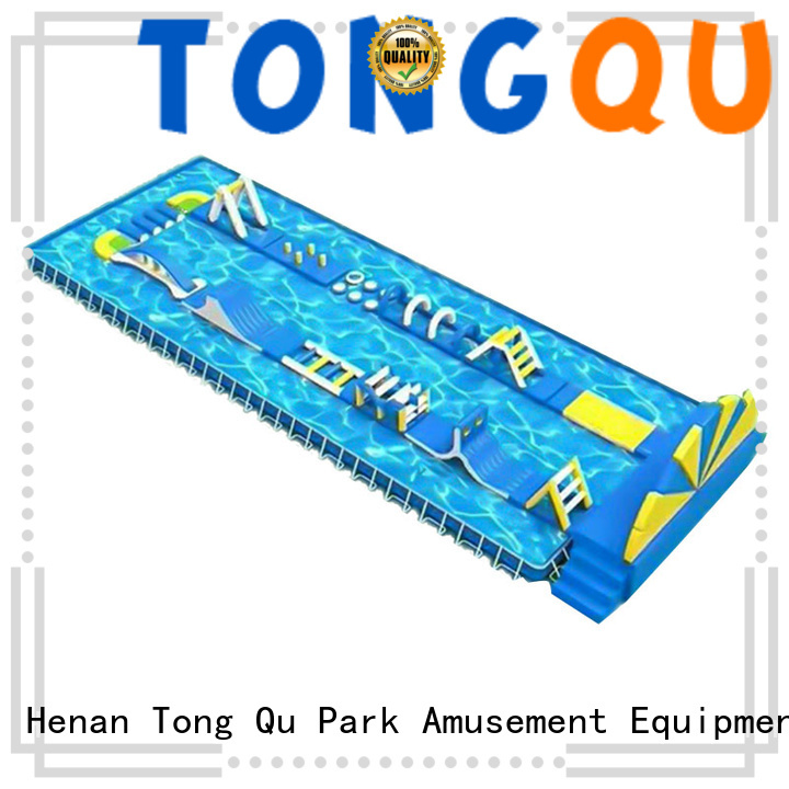 Tongtoy obstacle course bounce house from China for kids