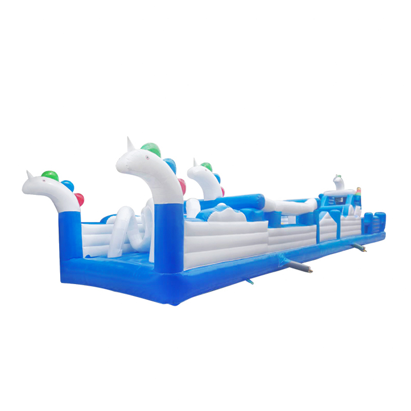 inflatable challenge obstacle course bouncer for kids adults game