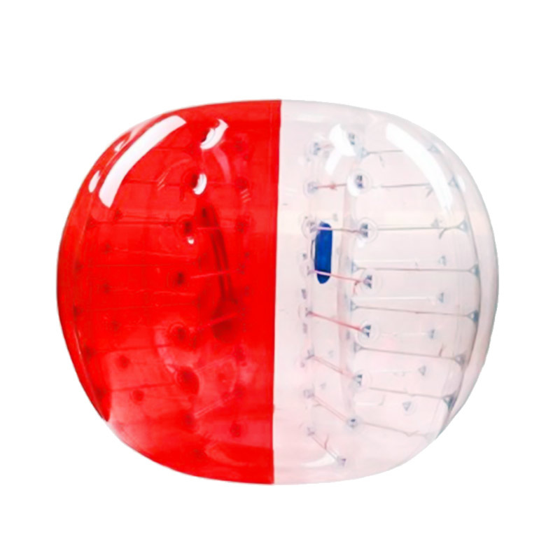 airtight clear inflatable bumper ball wearable belly bumper balls for outdoor games