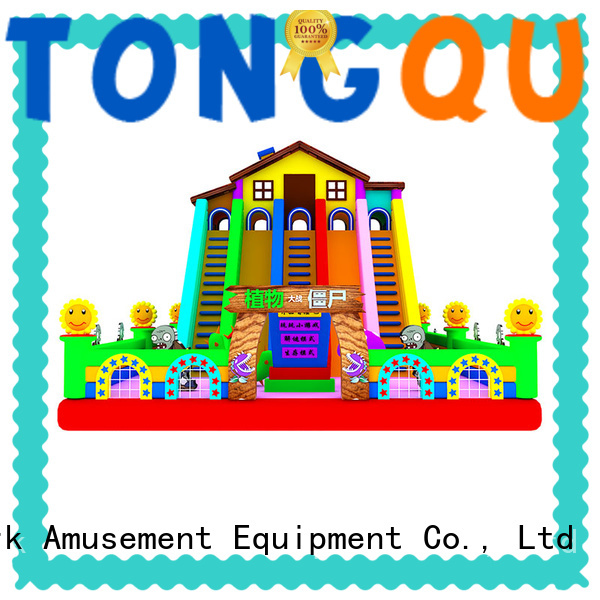 Tongtoy PVC bouncy slide from China for amusement park