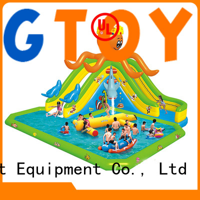 Tongtoy inflatable water slide with slip and slide company