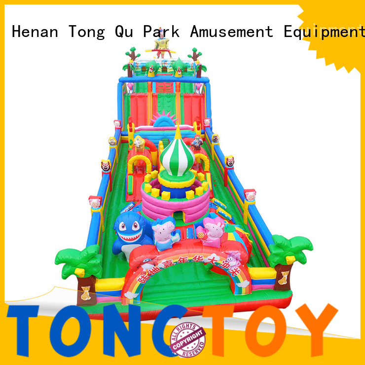 Tongtoy professional obstacle course bounce house from China for adult