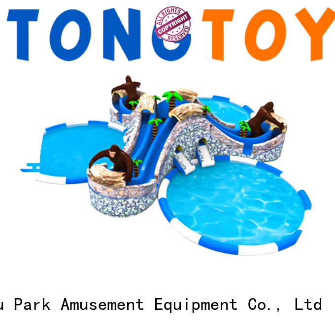 New blow up water slide for pool company for water park