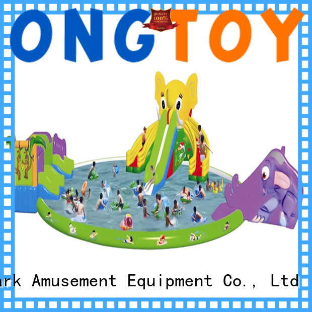 Tongtoy High-quality inflatable water slide for pool reputable manufacturer for water park