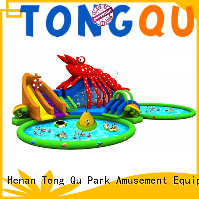 Tongtoy inflatable water slide factory price for water park