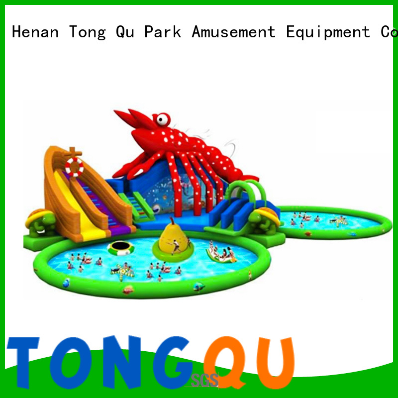 Tongtoy commercial inflatable water slides Suppliers