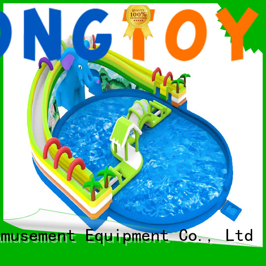 Best large blow up water slide for business