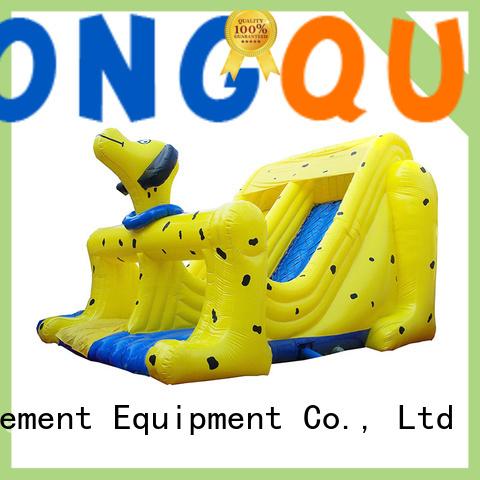 PVC bouncy slide reputable manufacturer for amusement park