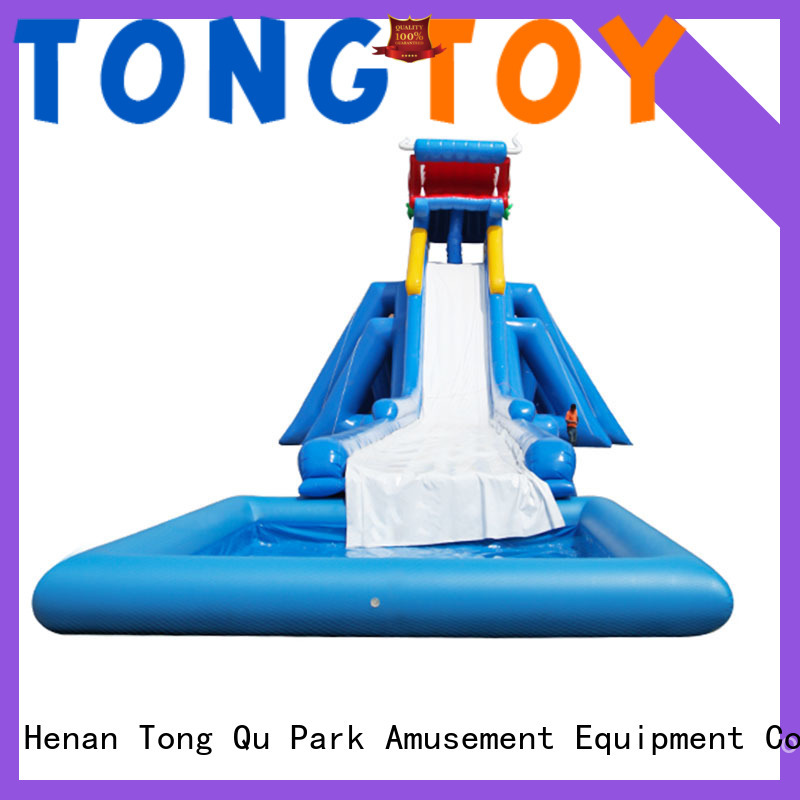 New huge inflatable water slides for rent Supply for swimming pool