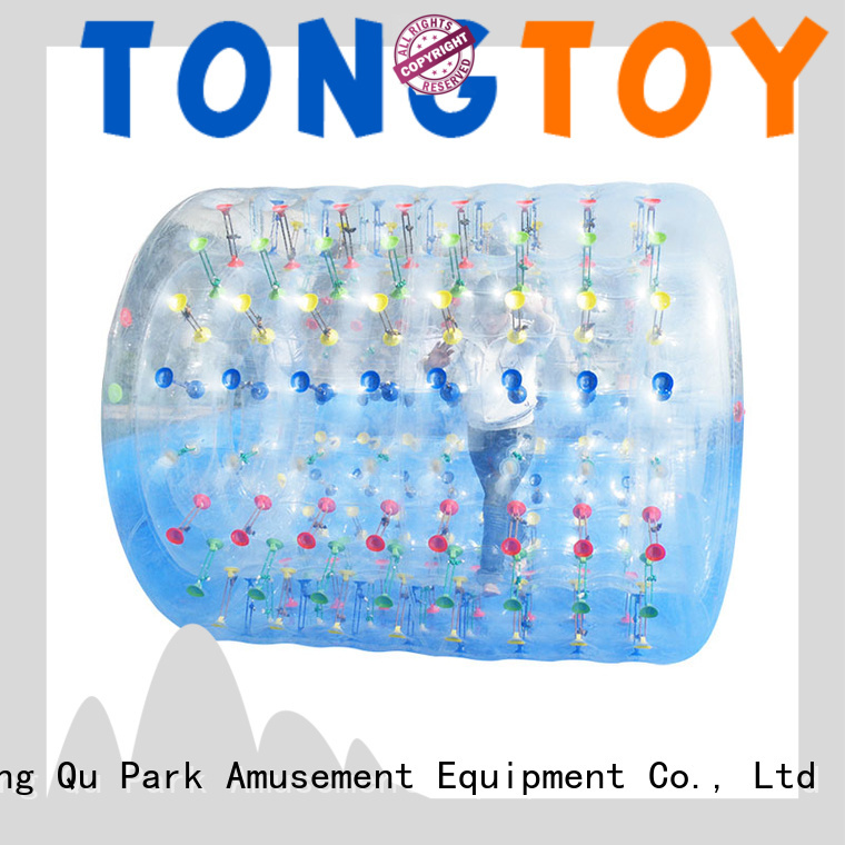Tongtoy waterproof human hamster ball reputable manufacturer for water park