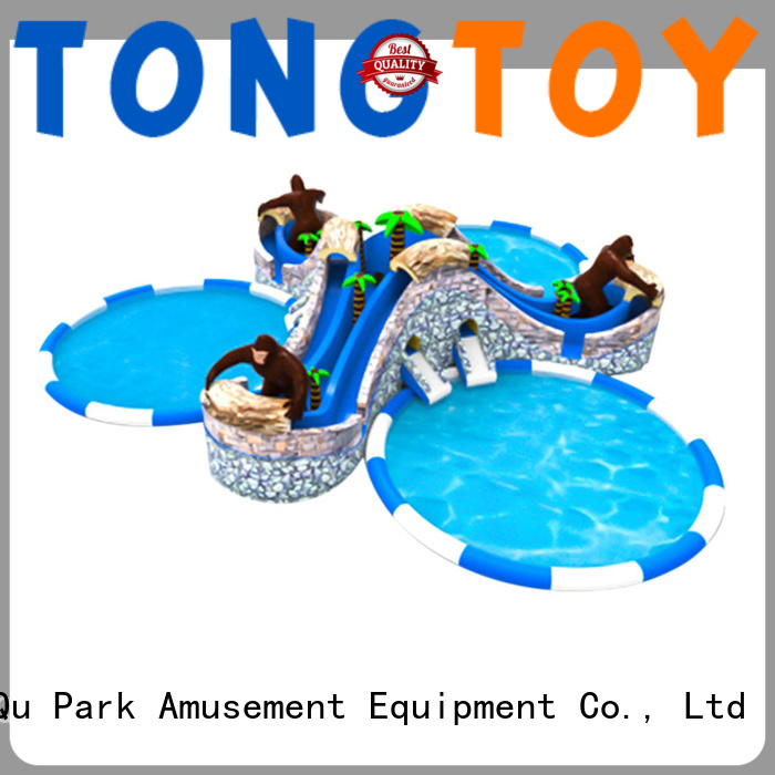 Tongtoy Wholesale water slide bounce house manufacturers for swimming pool