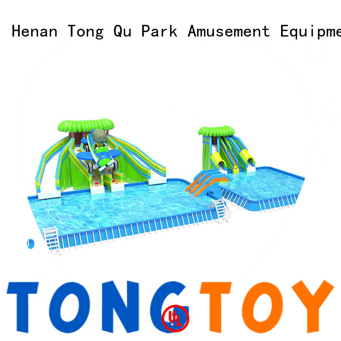 Tongtoy inflatable water slide for pool Suppliers