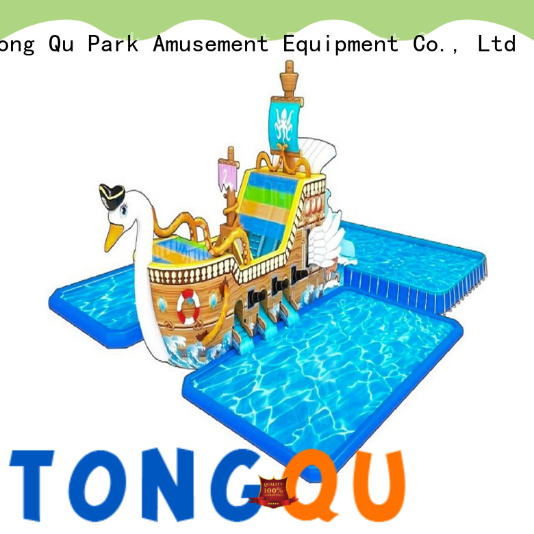 water-proof inflatable water slide factory price for swimming pool