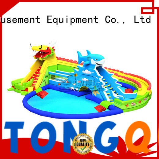 Tongtoy customized inflatable slides for sale company for water park