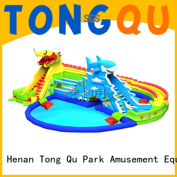 fire-resistant inflatable water slide factory price