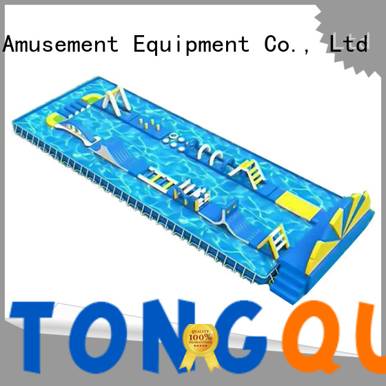 Tongtoy inflatable obstacle course inquire now for adult