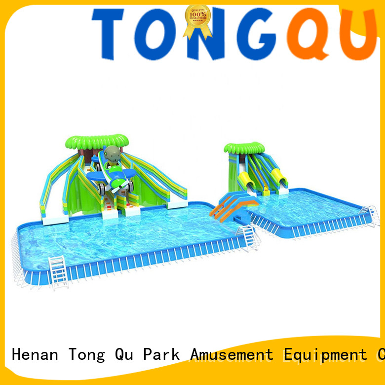 Tongtoy water-proof water slide bounce house factory price for water park