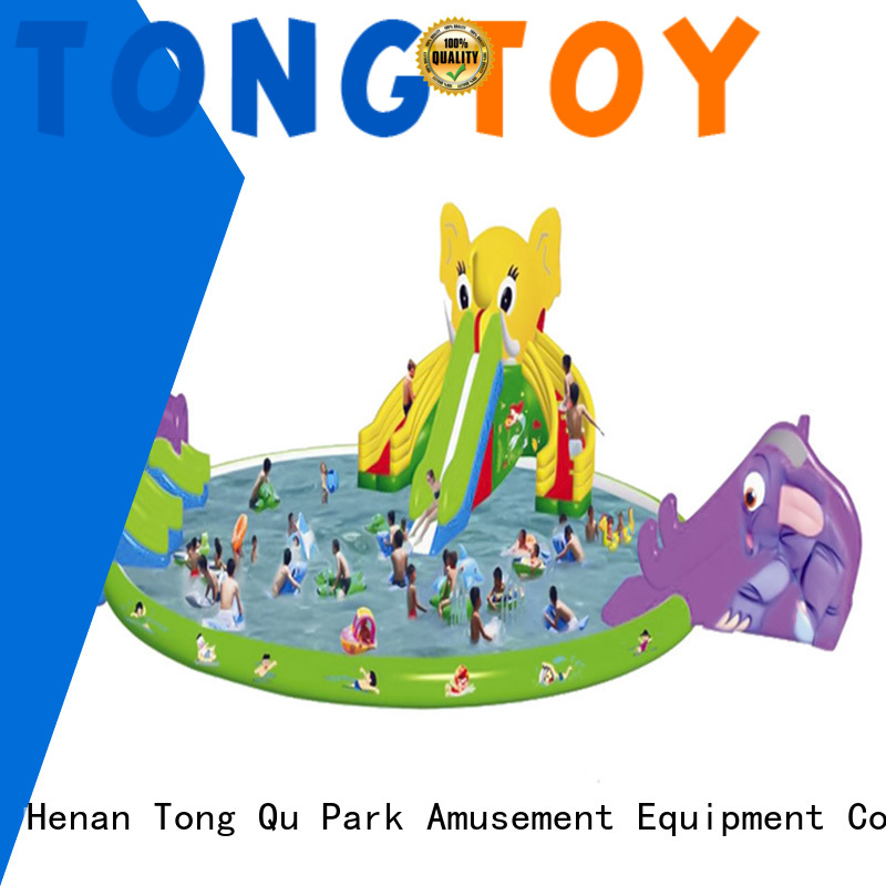 Tongtoy commercial inflatable bouncer order now for water park