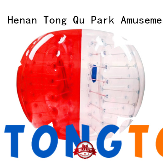 Tongtoy airtight clear inflatable zorb ball factory price for water park