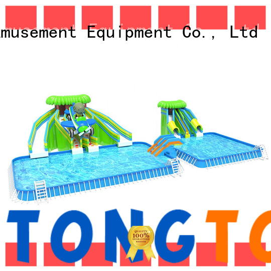 Tongtoy New kids inflatable water park order now for water park