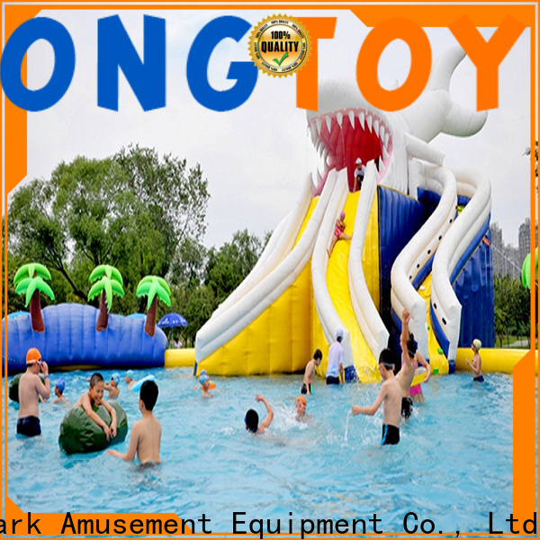 Tongtoy air water slide Supply for water park