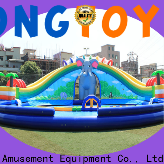 Tongtoy New kids inflatable bouncer order now for water park
