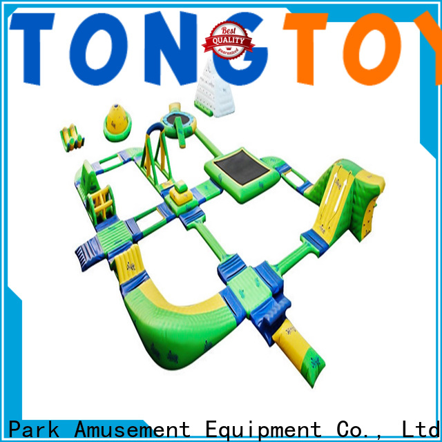 Tongtoy inflatable water playground inquire now for water park
