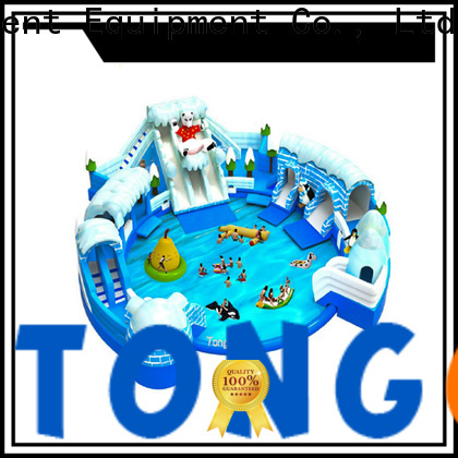 Tongtoy Top outdoor bouncer order now for water park