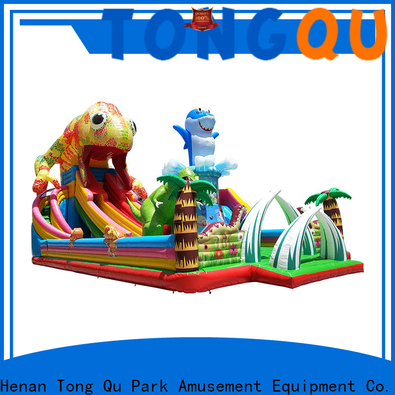 Heat resistant inflatable bouncers with slide inquire now for adult