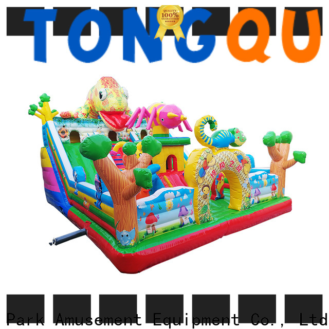 Tongtoy commercial grade bounce house supplier for outdoor