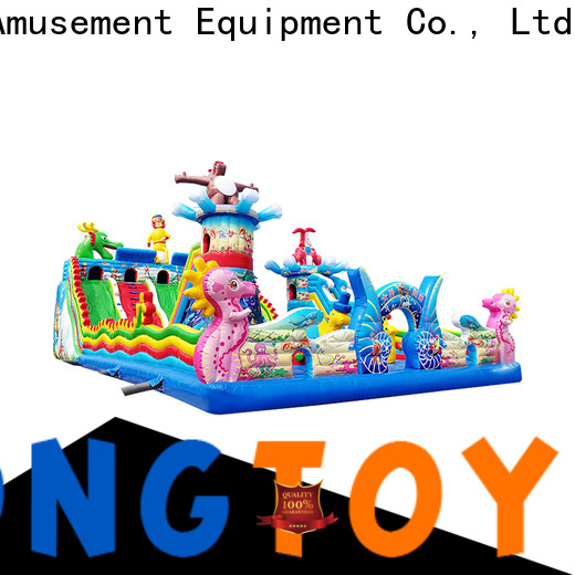 Tongtoy Durable outdoor bounce house supplier for outdoor