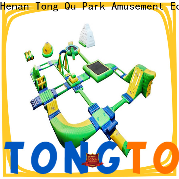 Tongtoy outdoor blow up water park manufacturers for water park