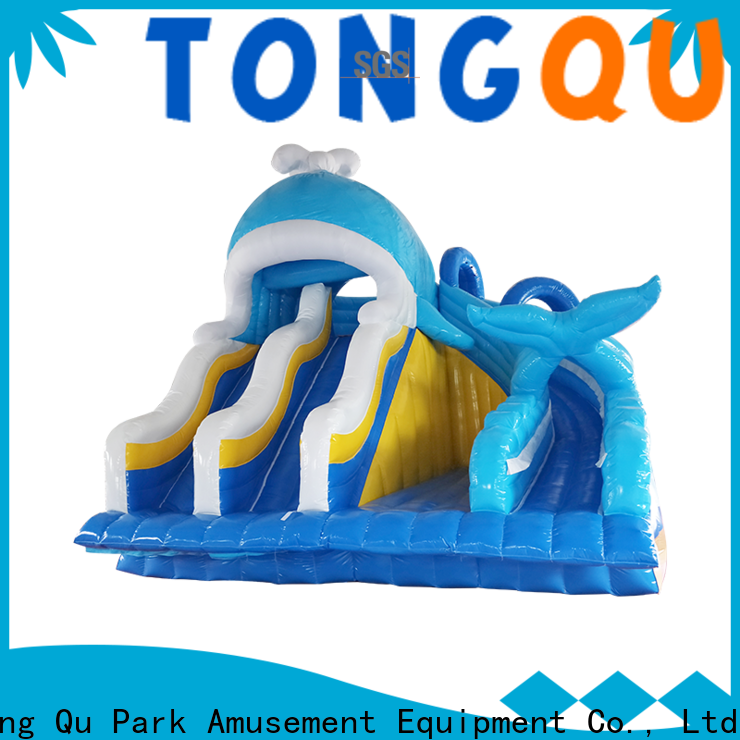 Tongtoy commercial inflatable water slides factory