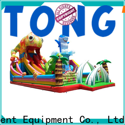 Heat resistant moonwalk bounce house wholesale for kids
