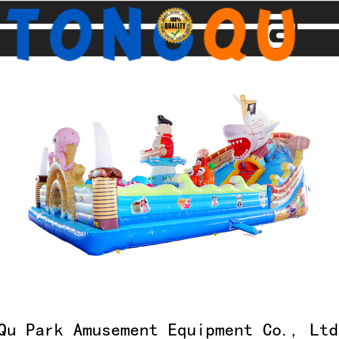 Tongtoy colorful outdoor bounce house supplier for kids