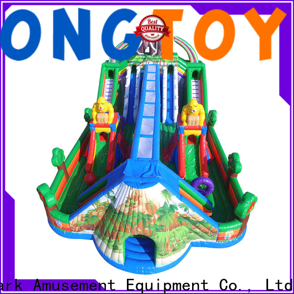 Tongtoy colorful toddler bounce house wholesale for kids