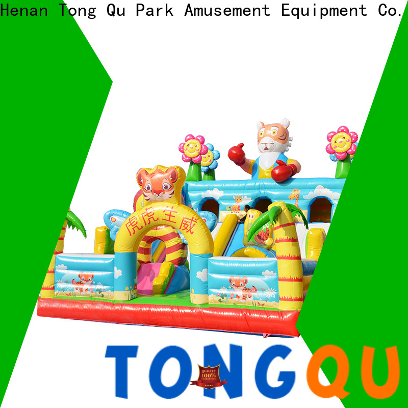 Heat resistant blow up jump house supplier for adult