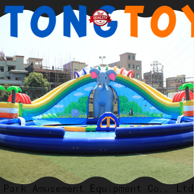 Tongtoy best inflatable water slide for business for water park
