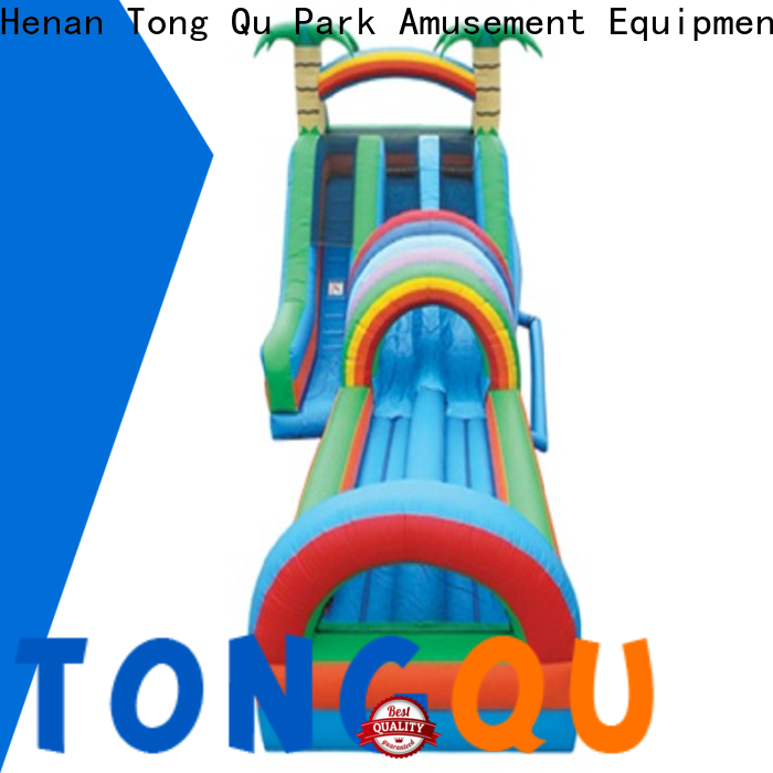 Tongtoy Top giant inflatable slip and slide order now for water park