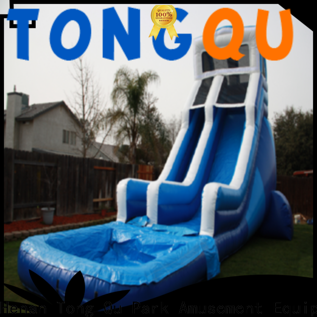 Tongtoy Best large blow up water slide for business