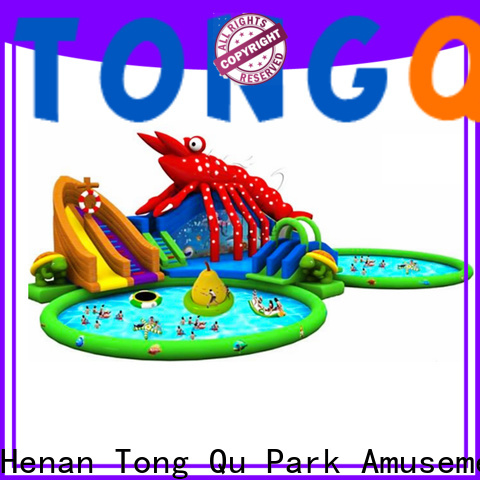 Tongtoy adult water slides order now for water park