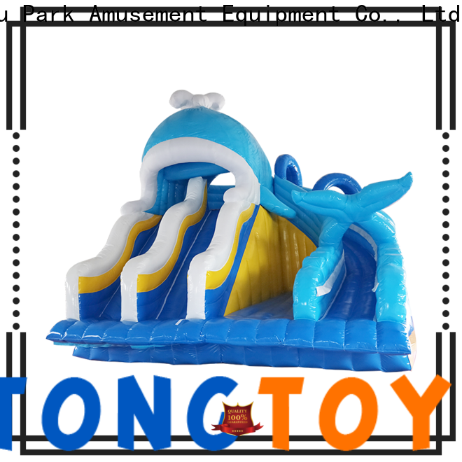 Tongtoy inflatable jumpers factory price for water park