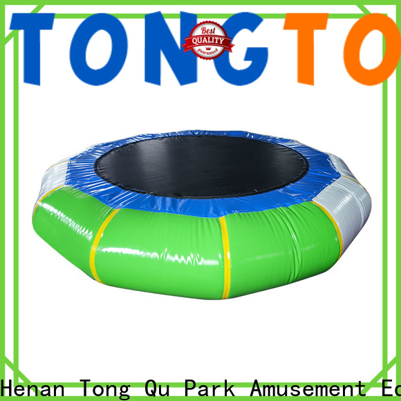 Tongtoy inflatable soccer field factory price for water park