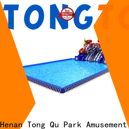 Tongtoy Wholesale cheap big inflatable water slides Supply