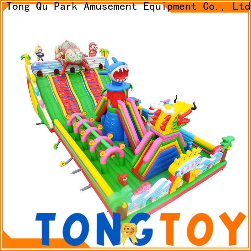 Tongtoy kids jump house wholesale for kids