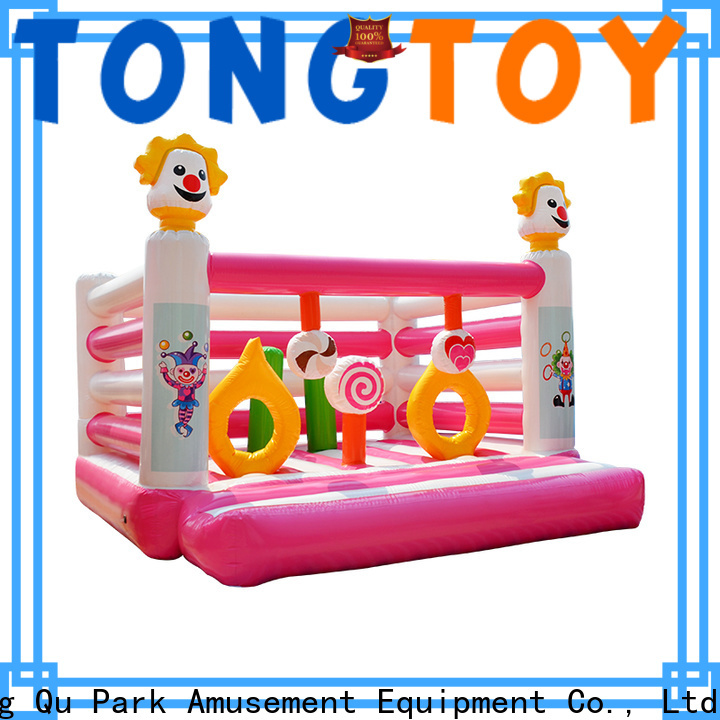 Tongtoy fire-resistant commercial blow up water slides wholesale for kids