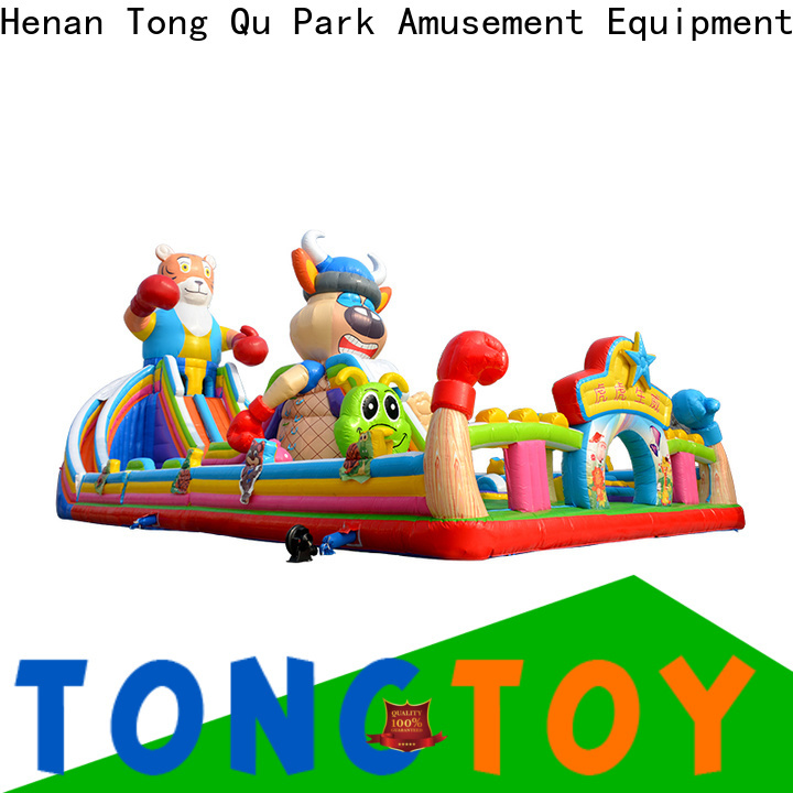 Tongtoy commercial bouncy castle inquire now for kids