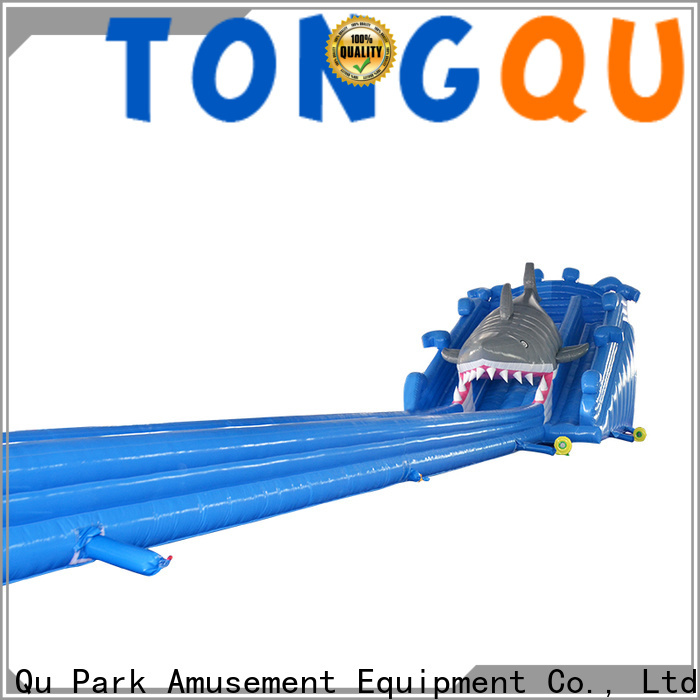 New garden inflatable water slide company